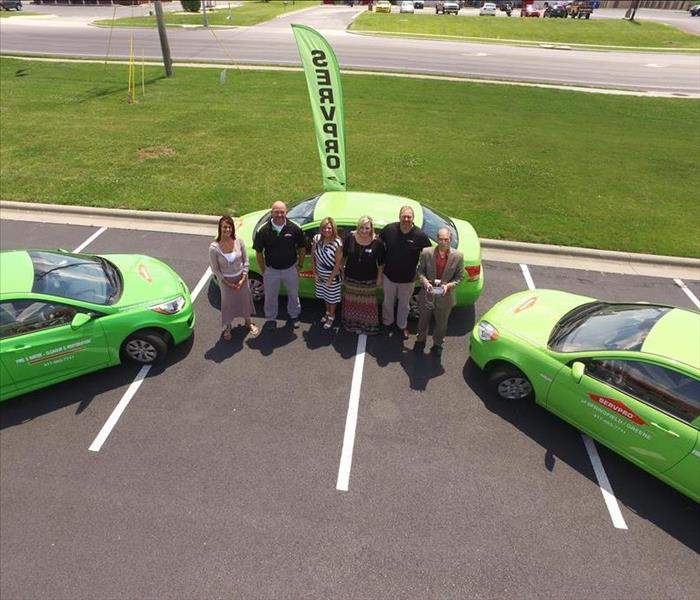 SERVPRO of Nixa & Branson Sales Staff