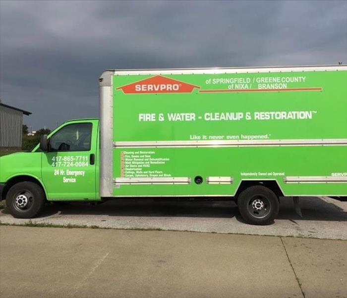 General For Immediate Service in Branson and Nixa, Call SERVPRO